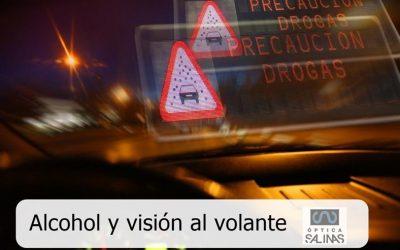 Mientras conducimos, ¿cómo afecta el alcohol a nuestra visión?